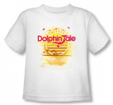 Toddler: Dophin Tale - Sunset T-shirts