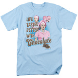 I Love Lucy - Better with Chocolate T-shirts
