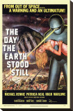 The Day The Earth Stood Still Stretched Canvas Print