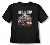 Toddler: Axe Cop - Retro Painting T-shirts