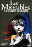 Los Miserables (Broadway) Reproducción en lienzo de la lámina
