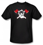 Axe Cop - Crossed Axes Camiseta