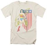 Wonder Woman - USA Banner T-Shirt