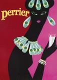 Perrier Plakat af  The Vintage Collection