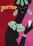Perrier Print by  The Vintage Collection