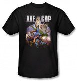 Axe Cop - Retro Painting T-shirts