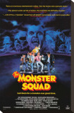 The Monster Squad Stretched Canvas Print