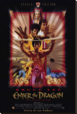 Enter the Dragon Stretched Canvas Print