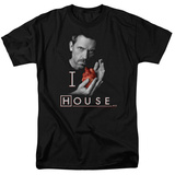 House - I Heart House Shirt
