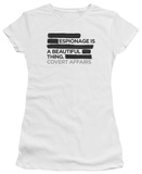 Juniors: Covert Affairs - Espionage Shirts
