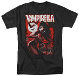 Vampirella - Taking the Town T-shirts