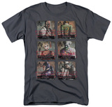 Batman Arkham City - Arkham Lineup T-shirts