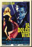 La Dolce Vita de Federico Fellini Reproduction transférée sur toile