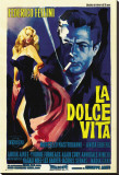 La Dolce Vita Stretched Canvas Print