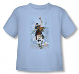 Toddler: Axe Cop - Huge Battle Camisetas