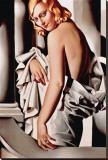 Portrait de Marjorie Ferry Sträckt Canvastryck av Tamara de Lempicka