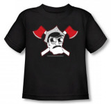 Toddler: Axe Cop - Crossed Axes T-shirts