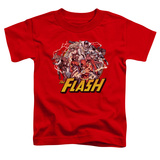 Toddler: The Flash - Flash Family T-shirts