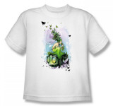 Youth: Helmet Girls - Butterflies T-Shirt