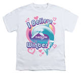 Youth: Dolphin Tale - I Believe in Winter T-Shirt