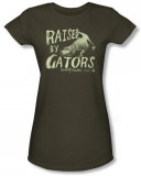 Juniors: Swamp People - Raised by Gators T-Shirt