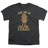 Youth: Garfield - Ask Me T-shirts