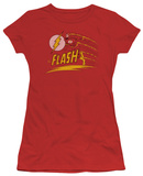 Juniors: The Flash - Like Lightning T-Shirt