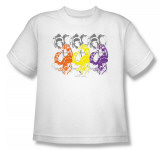 Youth: Helmet Girls - Tri Boa Scarf Shirts