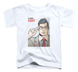Toddler: Superman - Clark Kent Cover T-shirts