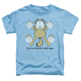 Toddler: Garfield - Stuck T-shirts