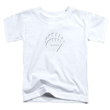 Toddler: Green Lantern - White Lantern Logo Shirts