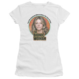 Juniors: The Bionic Woman - Under My Skin T-Shirt