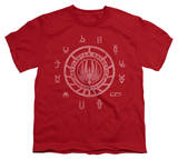 Youth: Battlestar Galactica - BSG Colonies T-Shirts