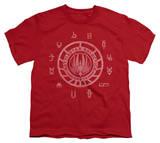 Youth: Battlestar Galactica - BSG Colonies Shirts