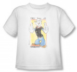 Toddler: Popeye - Say Yes to Spinach T-shirts