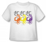Toddler: Helmet Girls - Tri Boa Scarf T-shirts