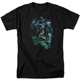 Green Lantern - Black Lantern Batman T-Shirt