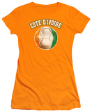Juniors: Cote D'Ivoire T-shirts