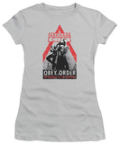 Juniors: Batman Arkham City - Obey Order T-Shirt