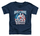 Toddler: Wonder Woman - American Heroine T-shirts