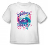 Toddler: Dophin Tale - I Believe in Winter T-shirts