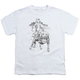 Youth: Popeye - Walking the Dog T-shirts