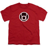 Youth: Green Lantern - Red Lantern Symbol T-Shirt