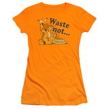 Juniors: Garfield - Waste Not T-Shirt