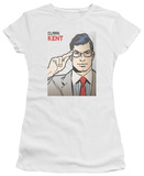 Juniors: Superman - Clark Kent Cover T-Shirt
