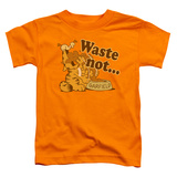 Toddler: Garfield - Waste Not T-shirts