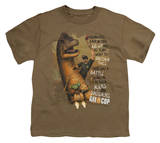 Youth: Axe Cop - Aliens and Dinosaurs Camiseta
