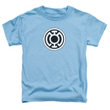 Toddler: Green Lantern - Blue Lantern Logo Shirts