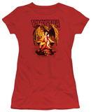 Juniors: Vampirella - Bat Throne T-Shirt