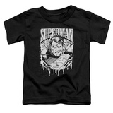 Toddler: Superman - Super Metal T-Shirt